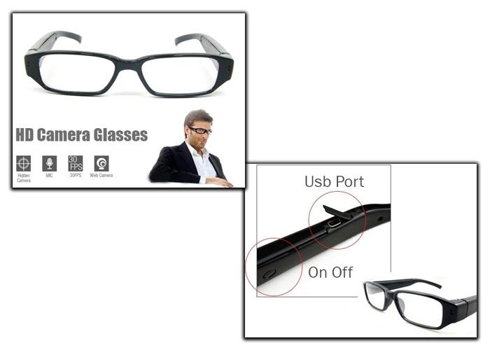 b45a3bcdc2 ... Γυαλιά Οράσεως Με Κρυφή Κάμερα   Ήχο - Spy Camera Glasses 720p DVR-5MP