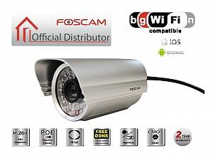 Foscam FI9805E: Αδιάβροχη Έγχρωμη IP Κάμερα HD (720p), Ethernet/PoE, Νυχτερινή Λήψη έως 30 μ., H264 – Outdoor Color IP Camera
